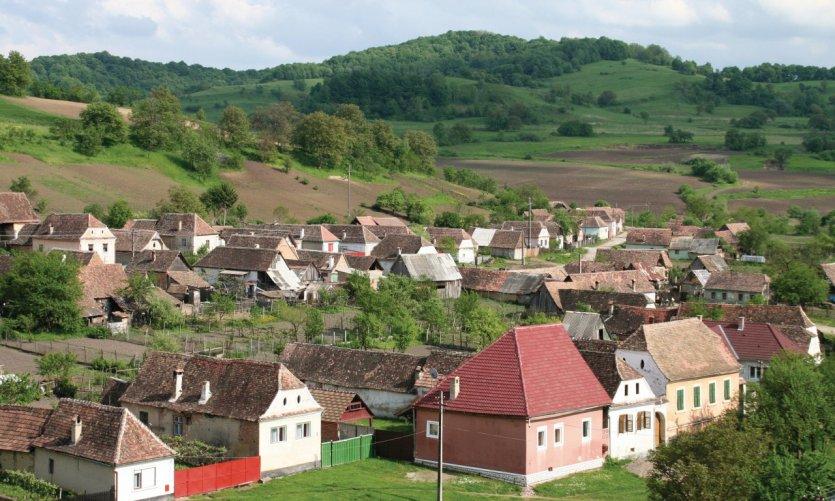 L'église fortifiée offre un beau panorama sur le village et la campagne environnante.
