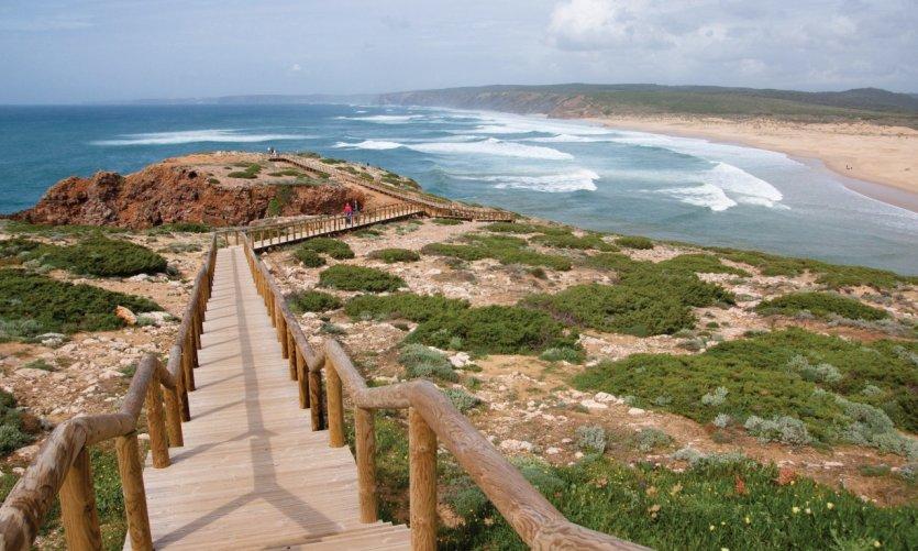 Praia do Amado sur la Costa Vicentina.