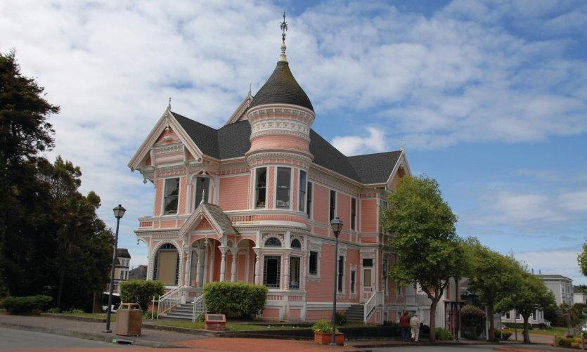 <p>Maison victorienne d'Eureka.</p>