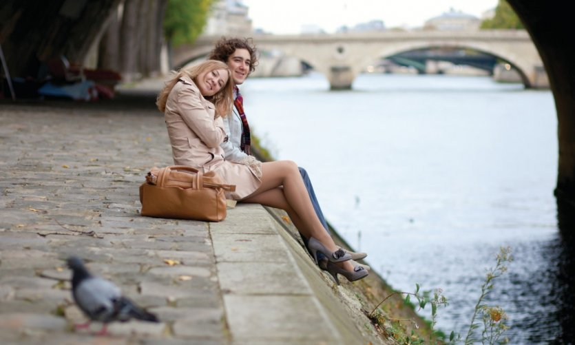 Sur les quais de Seine.