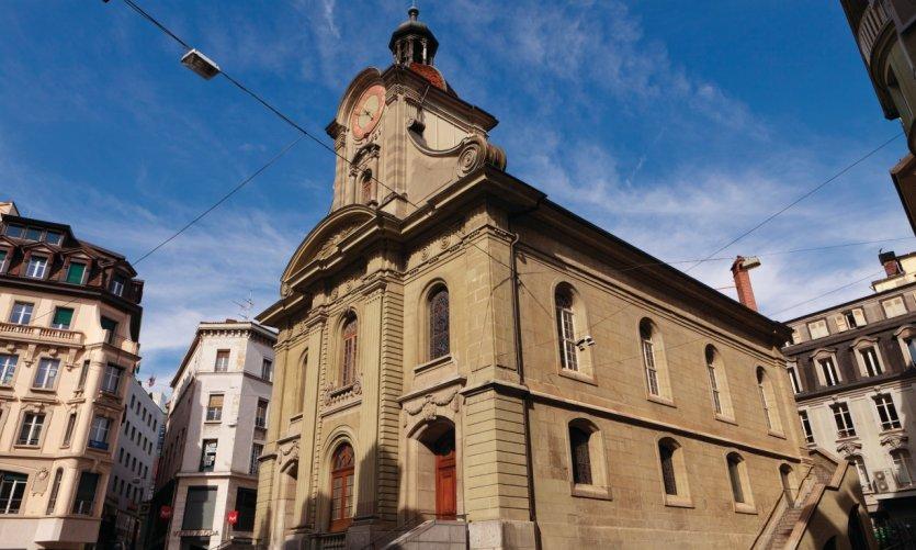 Église Saint-Laurent.