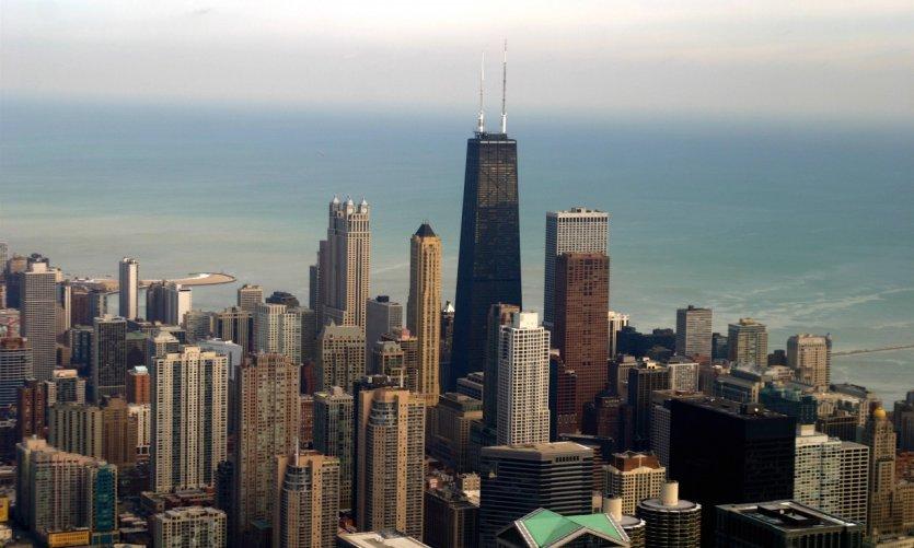 Skyline de Chicago.