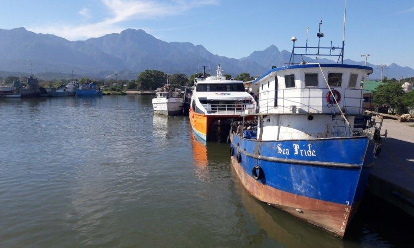 <p>Port de La Ceiba.</p>