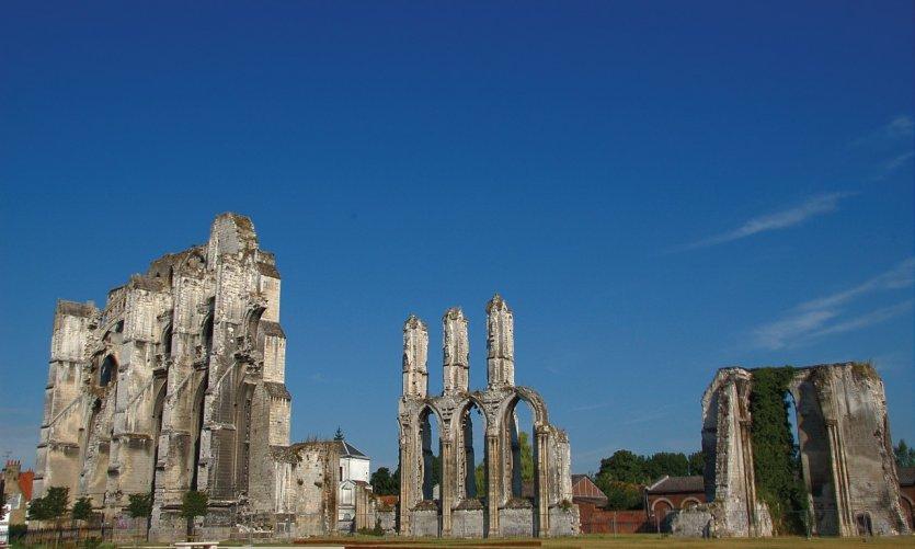 L'abbaye de Saint-Bertin à Saint-Omer