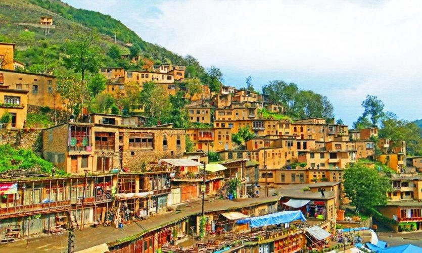 <p>Le village de Masouleh.</p>