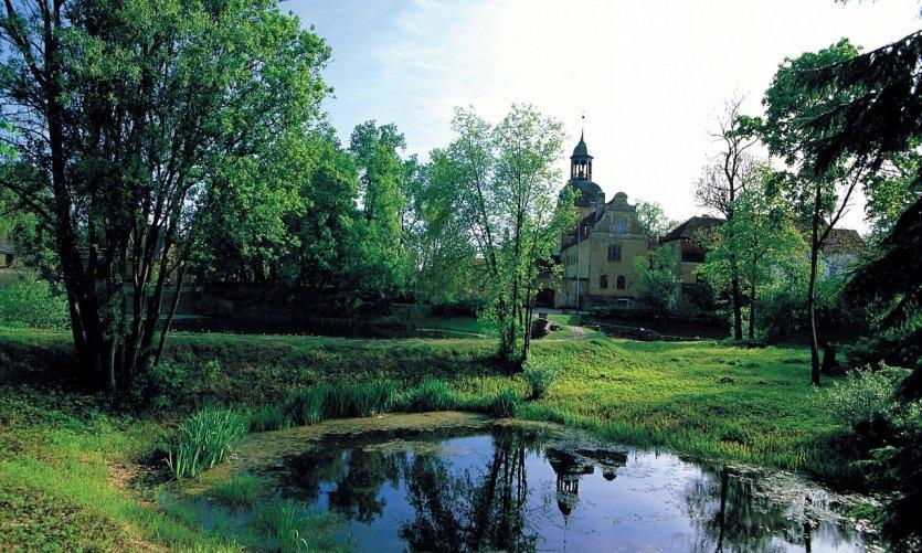Église et château de Lielstraupe, Parc national de Gauja.