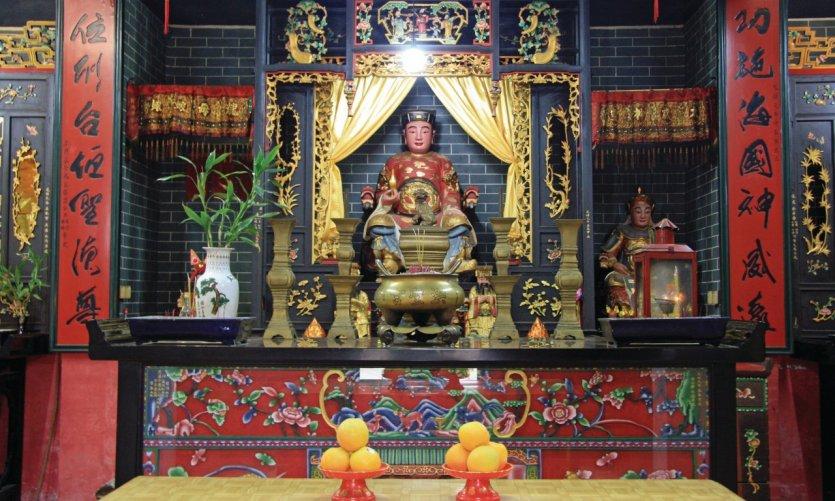Temple Hung Shing sur Cheung Chau.