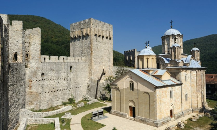 Monastère de Manasija.