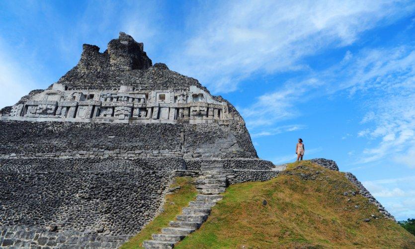 Ruines mayas de San Ignacio.