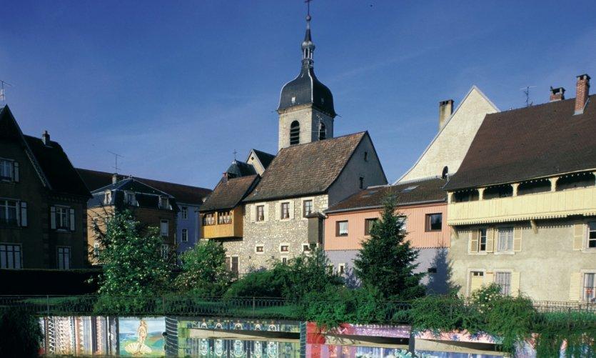L'église de Delle