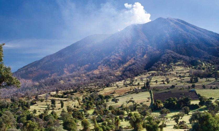 Volcan Turrialba.
