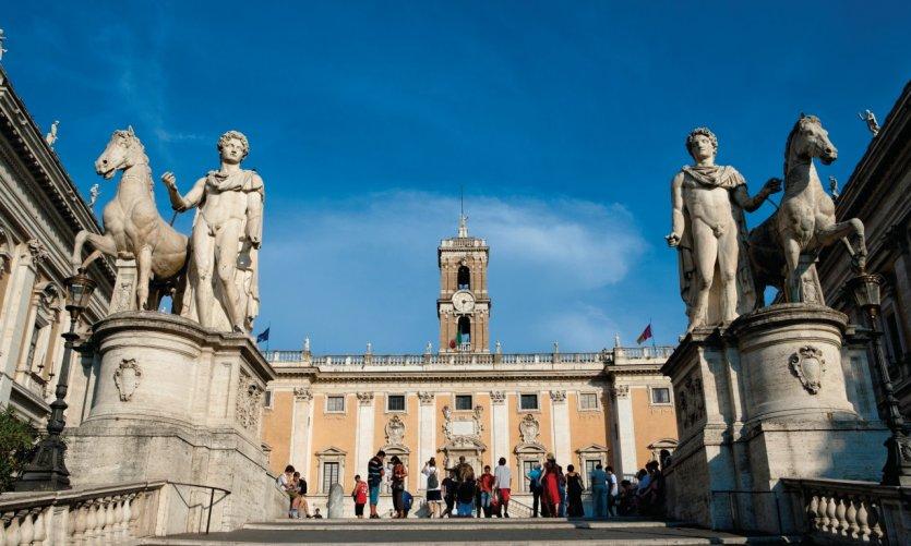 Piazza del Campidoglio (place du Capitole).