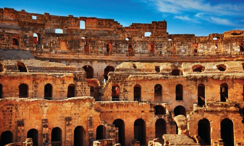 Amphithéâtre d'El Jem.