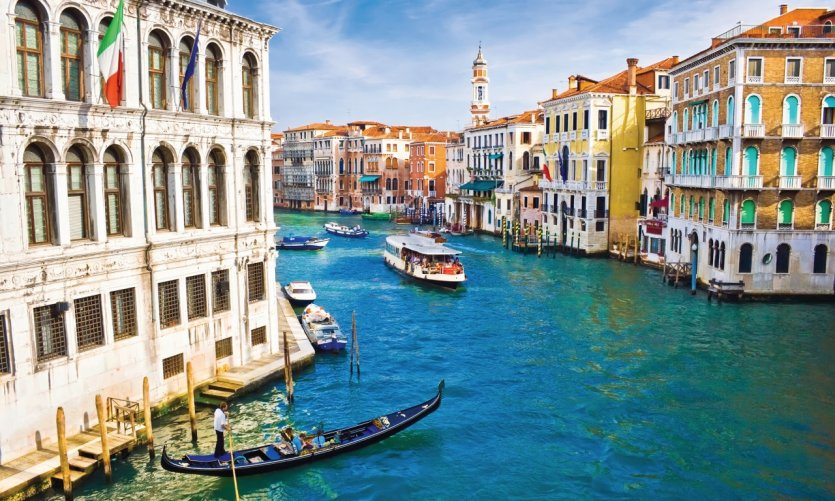Grand Canal de Venise.