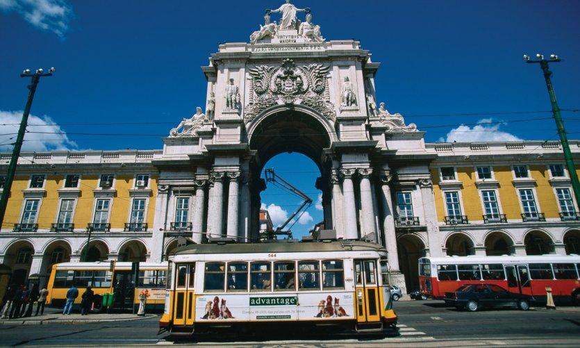 Praça do Comércio.