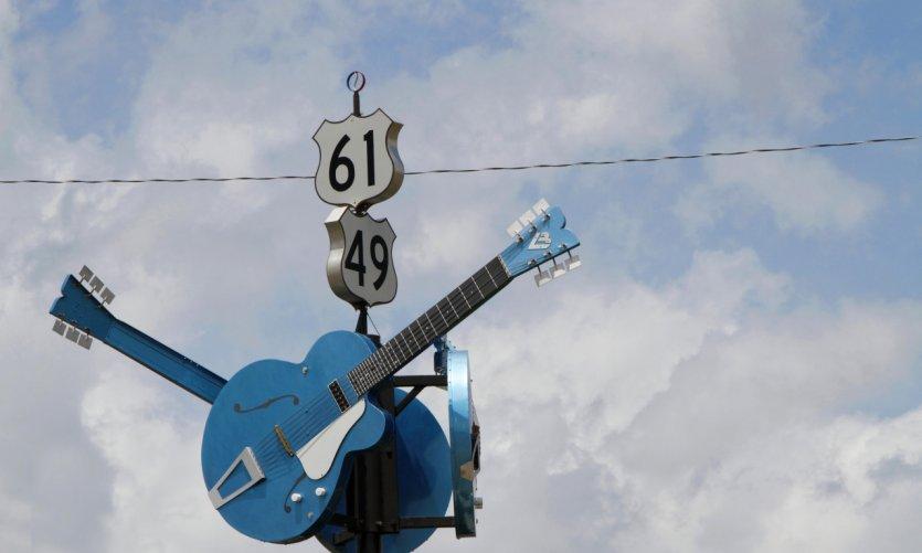 Cruce de las carreteras 61 y 49, Clarksdale.