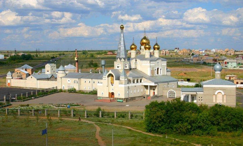 <p>Catedral ortodoxa de Karaganda.</p>