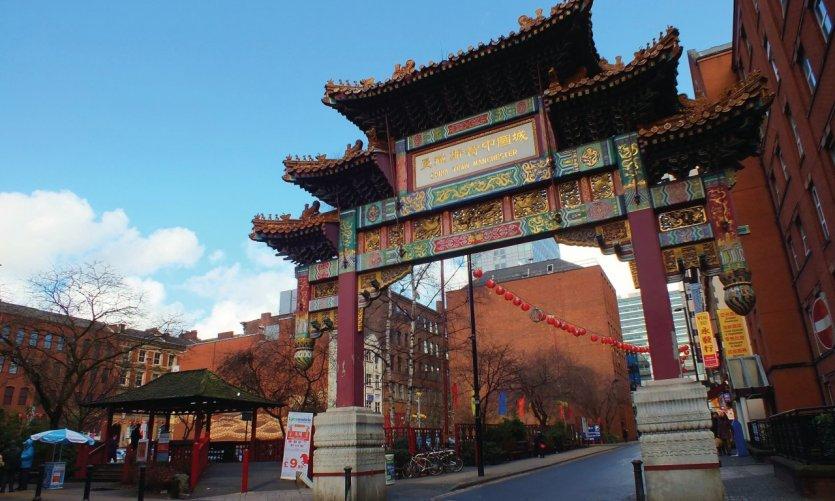 A Manchester, Chinatown accueille de nombreuses adresses asiatiques.