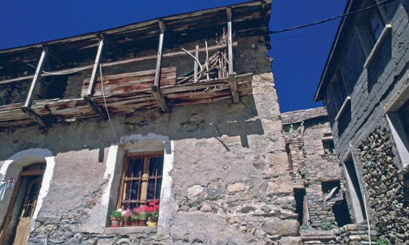 Maison du village de La Grave