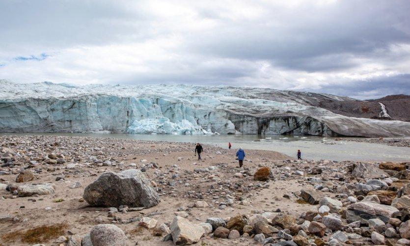 L'inlandsis à Kangerlussuaq.