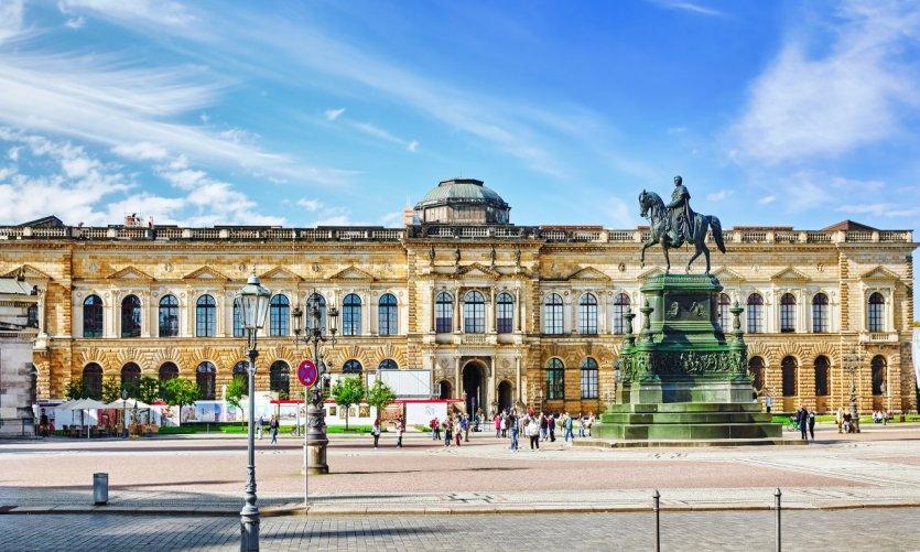 Zwinger Palace.