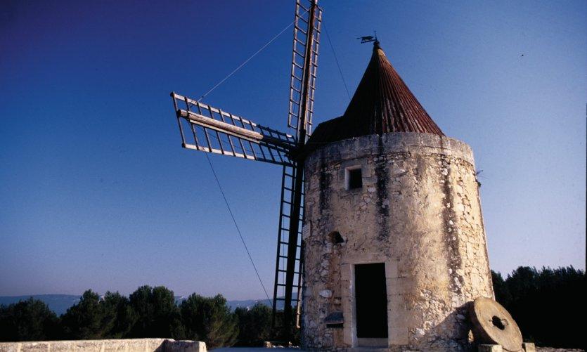 Le moulin de Daudet, Fontvieille.