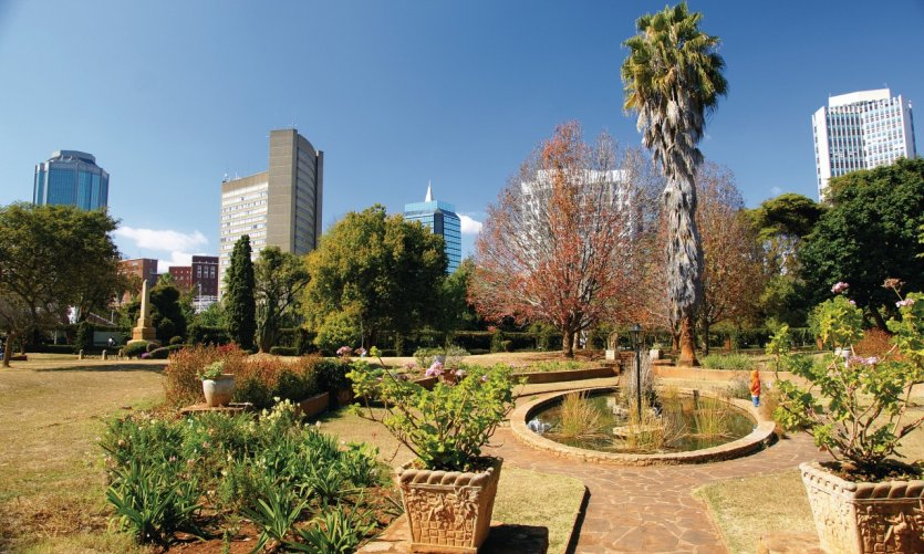 Ville d'Harare.