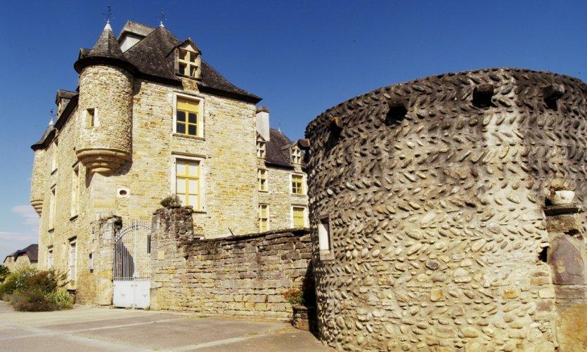 Le château d'Aren.