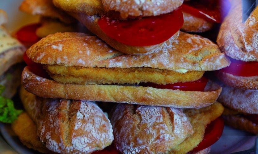 Milan propose un large choix de panini.