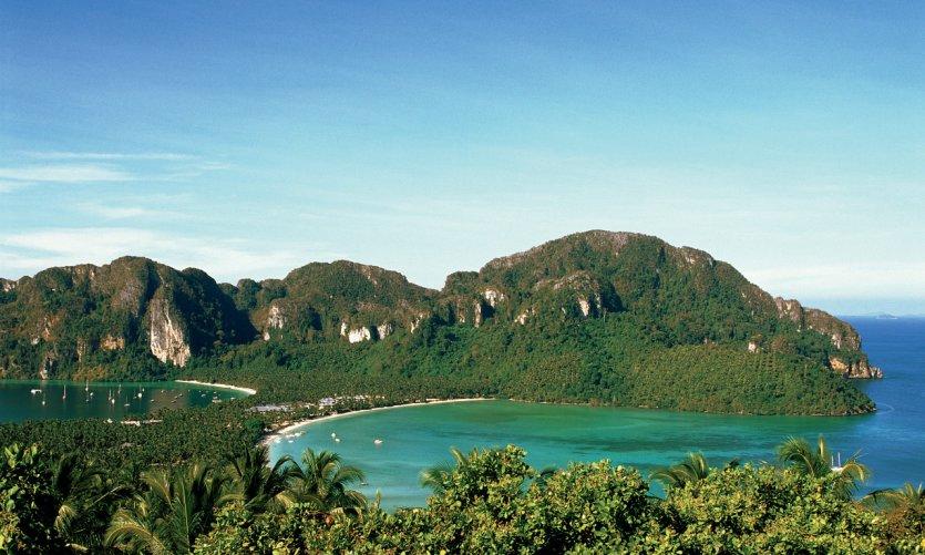 Phi Phi Don, la isla principal.