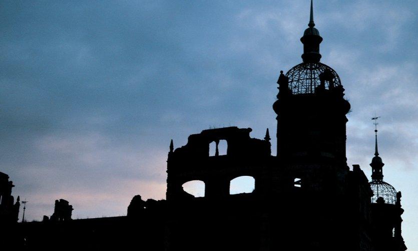 Ancien palais en ruines