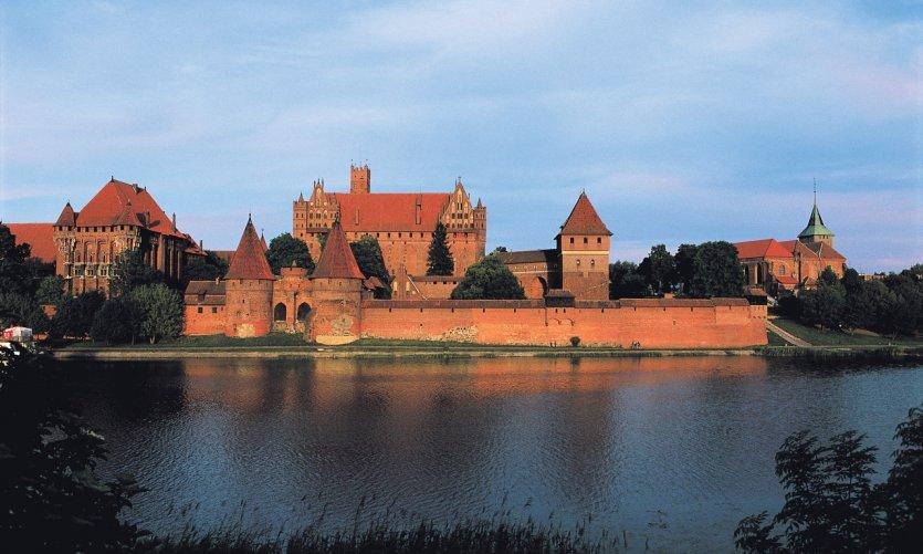 Château de Malbork.