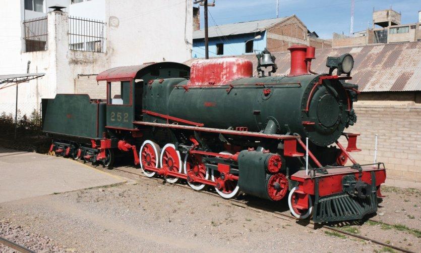 Ancienne locomotive.