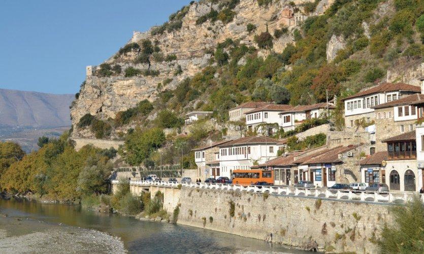 Town of Berat.