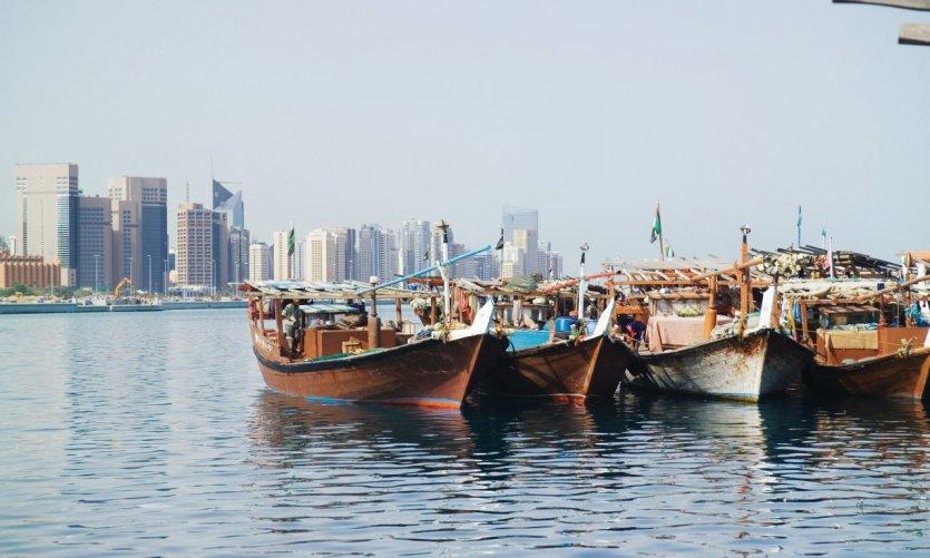 La ville d'Abu Dhabi.