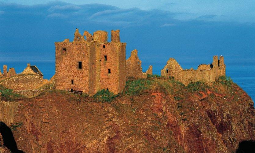 Dunottar Castle.