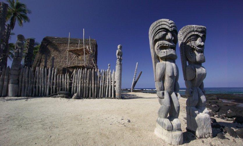 Pu'uhonua O Honaunau Historical Park.