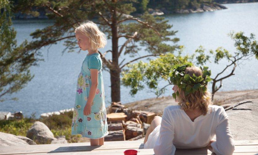 Famille de l'archipel de Stockholm.