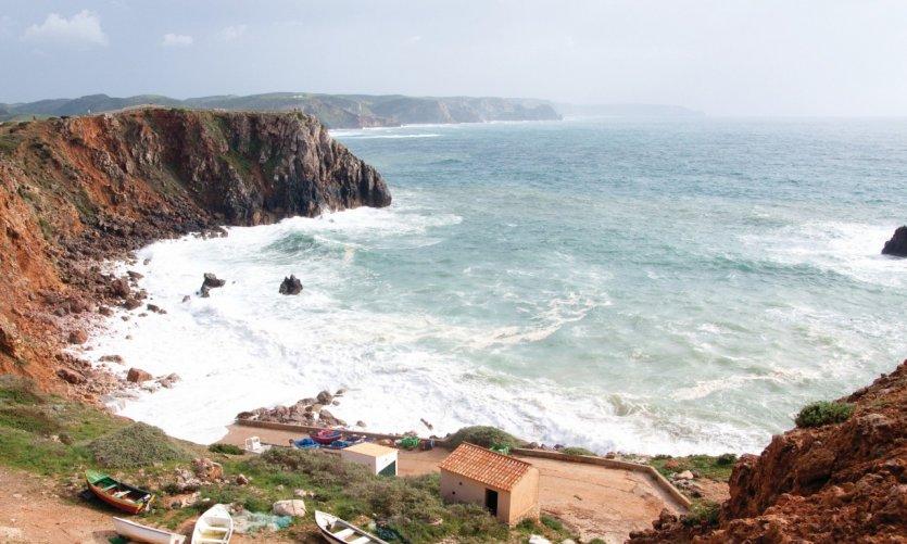 <p>Praia da Bordeira.</p>