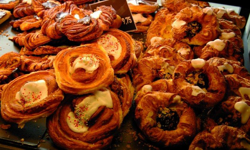 Pâtisseries danoises.