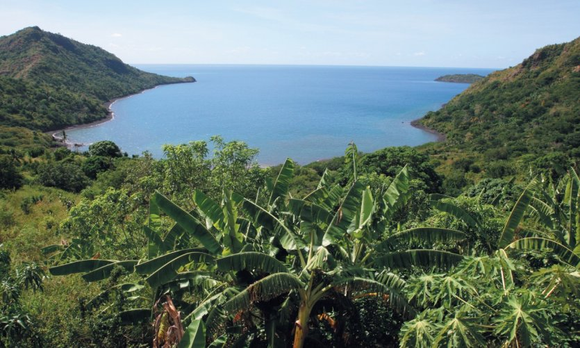The main summits of Mayotte