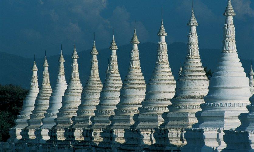Stūpas à Mandalay.
