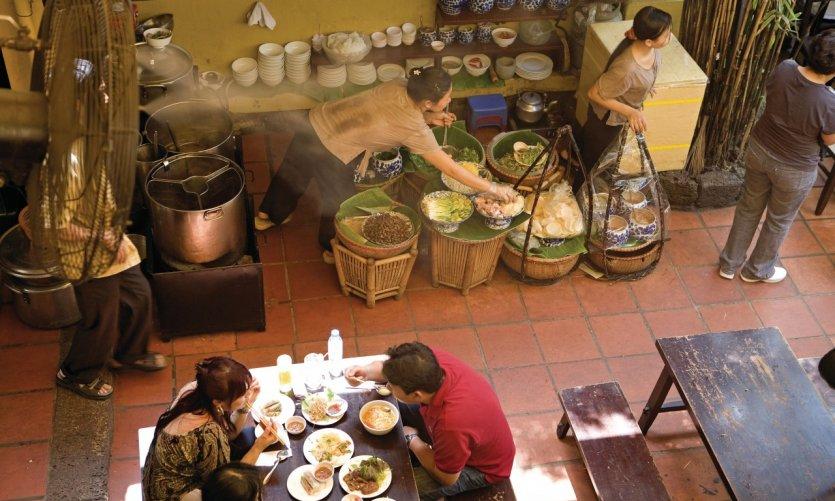 Restaurant de Ho Chi Minh-Ville.