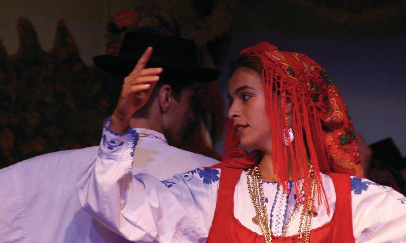 Spectacle folklorique portugais.