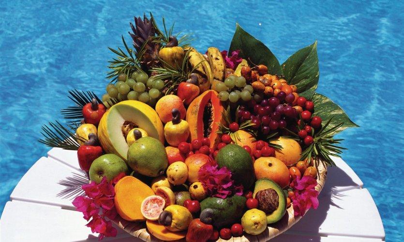 Panier de fruits.