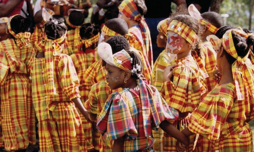 Carnaval des enfants au Gosier.