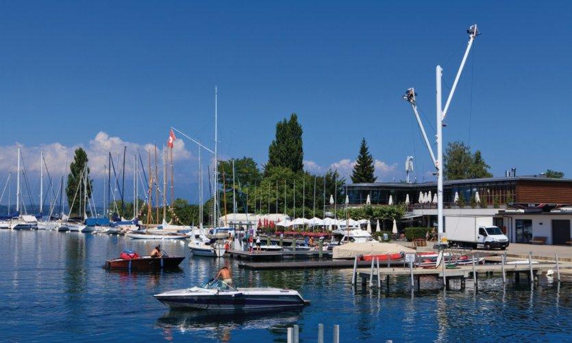 Port de Genève.