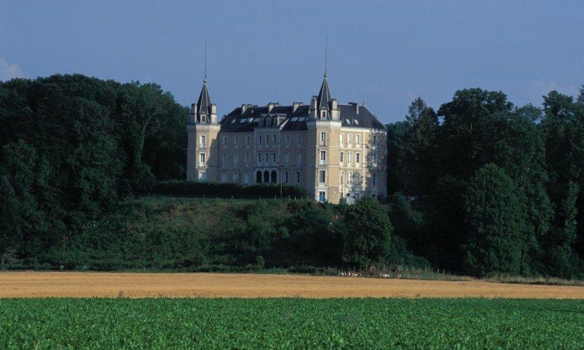 Le château de Clairvans - Chamblay