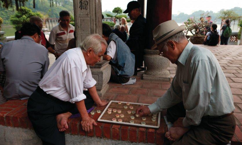 Temple Ngoc Son (Temple de la montagne de Jade).
