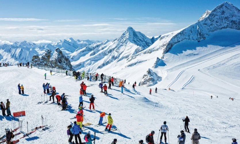 La station de Hintertux est très appréciée des skieurs.
